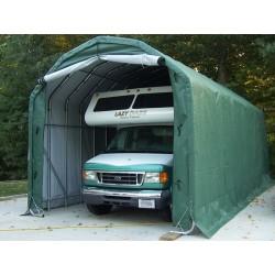 Rhino Shelter Barn -12'W x 20'L x 12'H (model PB122012BGN)