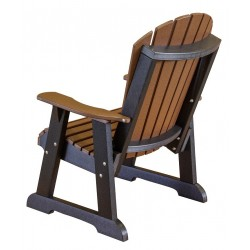 Little Cottage Co. Heritage High Fan Back Poly Lumber Chair (LCC-117)