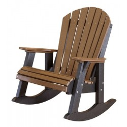 Little Cottage Co. Traditional Patio Double Seat Rocker (LCC-103)