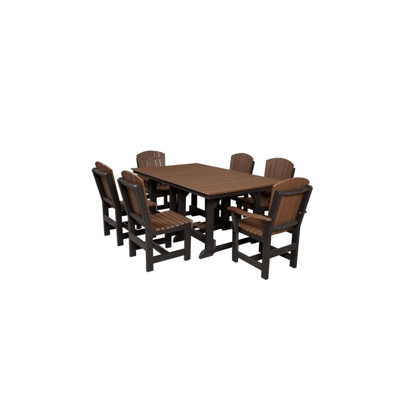 Little Cottage Co. Heritage 44x72 Dining Table w/ 6 Chairs (LCC-188)