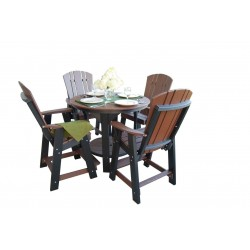 Little Cottage Co. Heritage 5 Pc Pub Table and Chair Set (LCC-180)