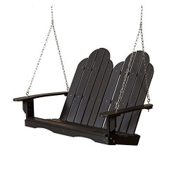 "Little Cottage Co. Classic Adirondack 48"" Porch Swing (LCC-204)"