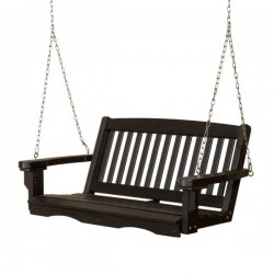 "Little Cottage Co. Classic Mission 48"" Porch Swing (LCC-205)"