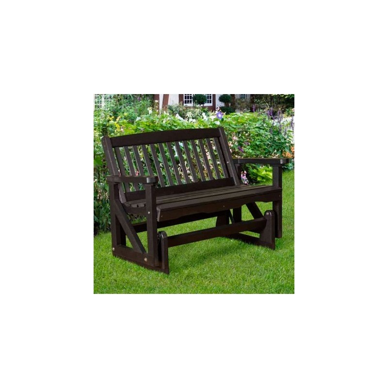 """Little Cottage Co. Classic Mission 48"""" Bench Glider (LCC-207)"""