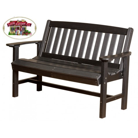 "Little Cottage Co. Classic Mission 56"" Bench (LCC-225)"