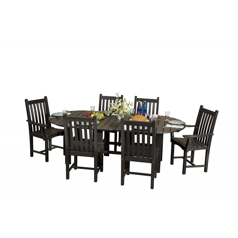 Little Cottage Co. Classic 44 x 84 Dining Table 6 Chairs (LCC-292)
