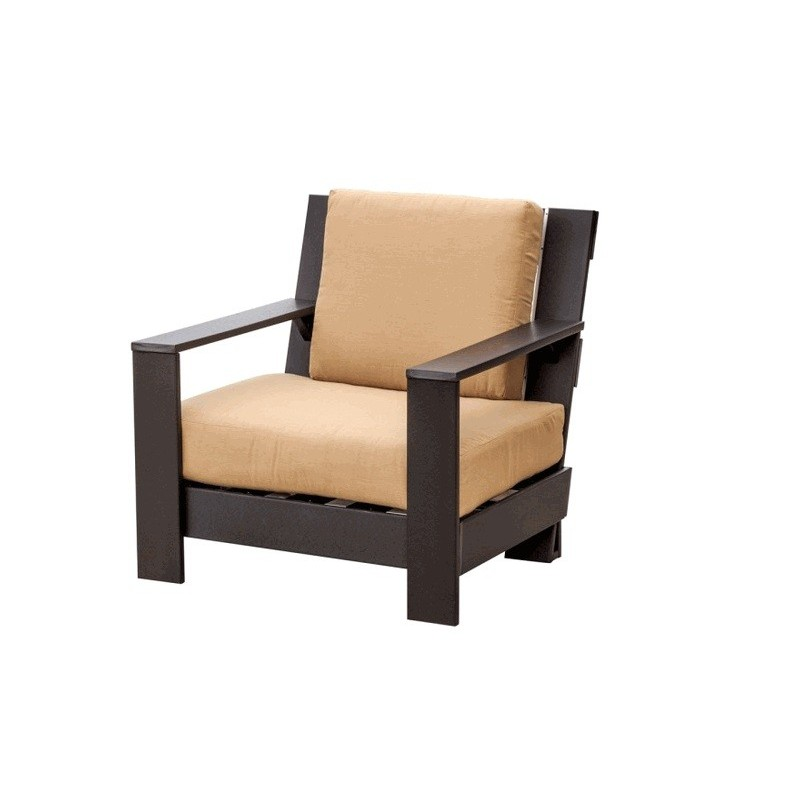 Little Cottage Co. Contemporary Deep Seat Patio Side Chair (LCC-301)