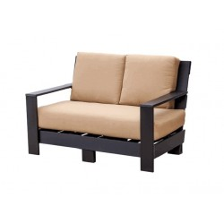 Little Cottage Co. Contemporary Deep Seat Patio Love Seat  (LCC-303)