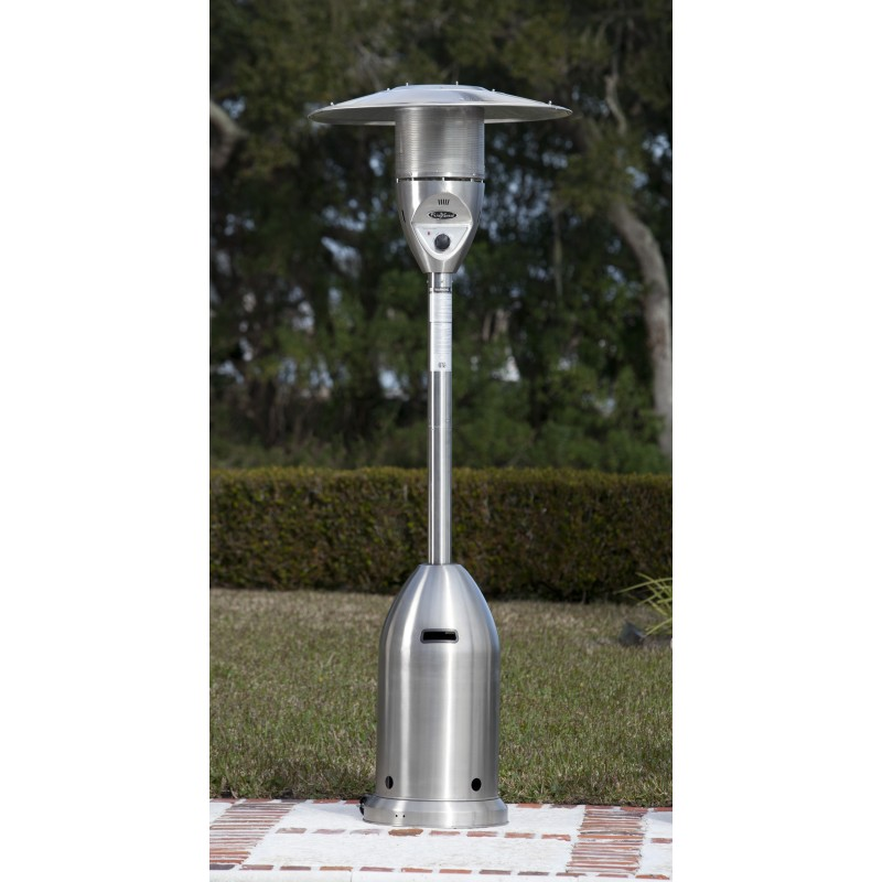 Fire Sense Stainless Steel Deluxe Patio Heater (11201)