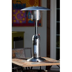 Fire Sense  Stainless Steel Table Top Patio Heater (60262)