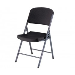 Lifetime Commercial Contoured Folding Chair 32 Pack (Black) 80061