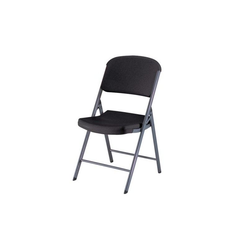 Lifetime 32-Pack Commercial Contoured Folding Chairs - Black (80061)