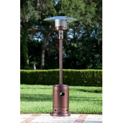 Fire Sense Hammered Bronze Commercial Patio Heater (60485)