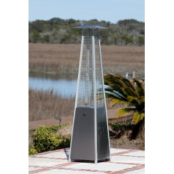 Fire Sense Stainless Steel Pyramid Flame Heater (60523)