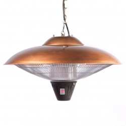 Fire Sense Copper Hanging Patio Heater (60660)