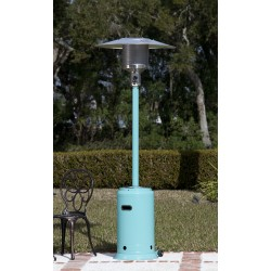 Fire Sense Aqua Blue Powder Coated Patio Heater (61130)