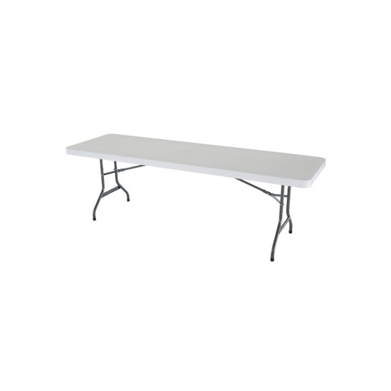 Lifetime 8 ft. Commercial Plastic Folding Banquet Tables 21 Pack (White) 2980