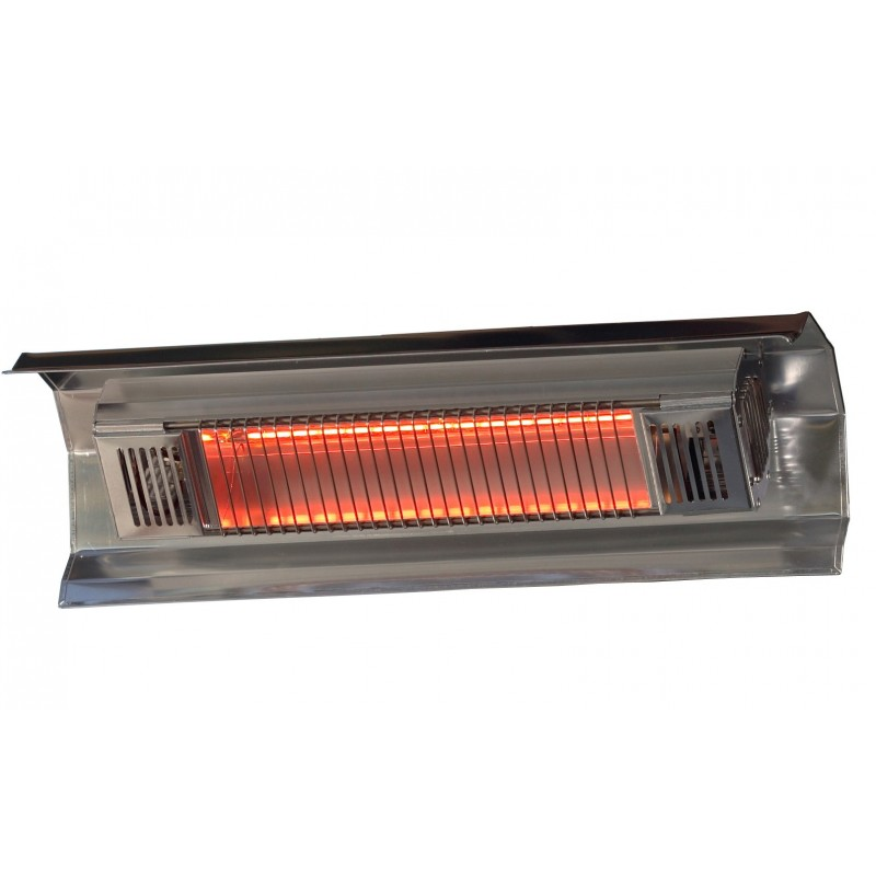 Fire Sense Stainless Steel Wall Mounted Infrared Patio Heater (02110)