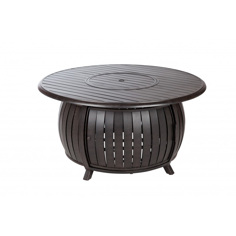 Fire Sense Grand Cooper Extruded Aluminum Round LPG Fire Pit (61832)