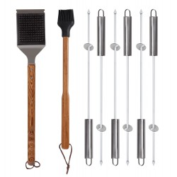 Fire Sense Elite Stainless Steel BBQ Tool Set (61932)