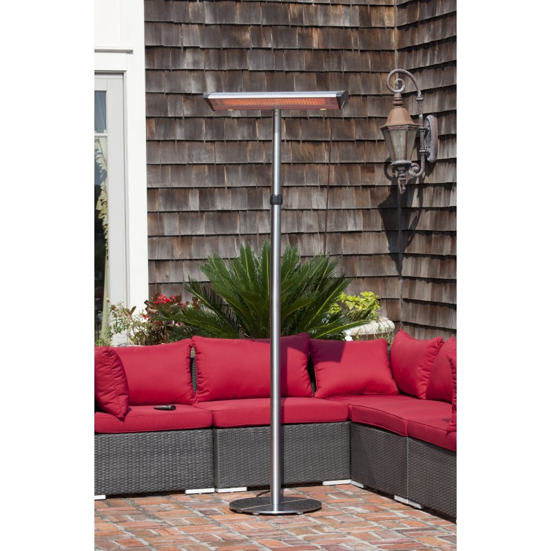 Fire Sense Morrison Dual Head Floor Standing Halogen Patio Heater (62235)