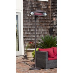 Fire Sense Alta Floor Standing Halogen Patio Heater (62232)
