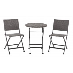 Patio Sense Acosta Folding Bistro Set (62154)