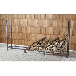 Fire Sense 8ft Firewood Rack (62226)