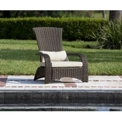 Fire Sense Deluxe Coconino Wicker Chair (62172)