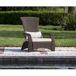 Fire Sense Deluxe Coconino Wicker Chair (62172)