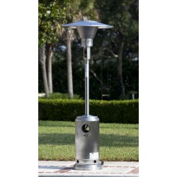 Fire Sense Stainless Steel Prime Round Patio Heater (62210)