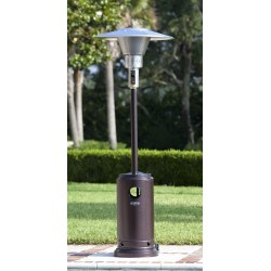 Fire Sense Hammered Bronze Prime Round Patio Heater (62211)
