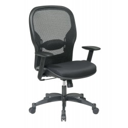 Space Seating Professional Black Breathable Mesh Back Chair (2300)