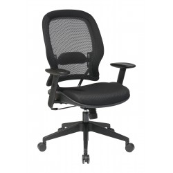 Space Seating AirGrid Back And Mesh Seat Managers Chair (5540)