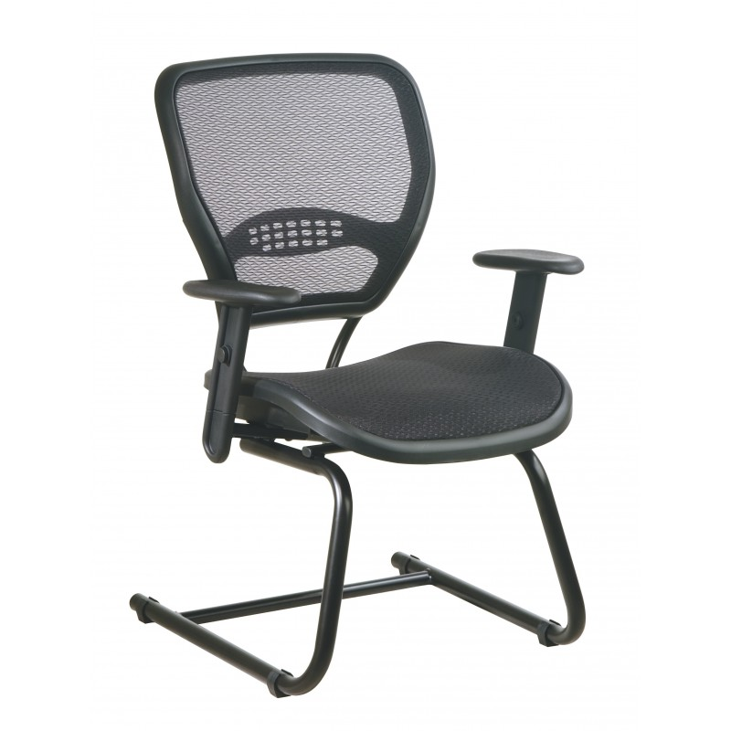 Space Seating AirGrid Seat and Back Deluxe Visitors Chair (5565)