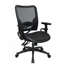 Space Seating Professional Dual Function Ergonomics AirGrid Chair (6236)