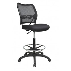 Space Seating Deluxe AirGrid Back Drafting Chair (13-37N20D)