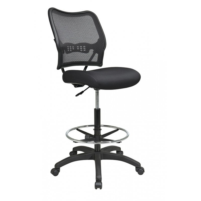 Space Seating Deluxe AirGrid Back Drafting Chair (13-37N20D)