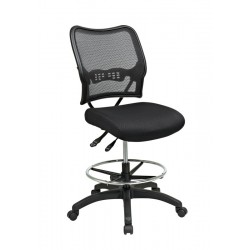 Space Seating Deluxe Ergonomic AirGrid® Back Drafting Chair (13-37N30D)