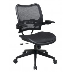 Space Seating Deluxe AirGrid Seat and Back Chair with Cantilever Arms (13-77N1P3)