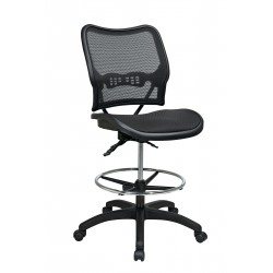 Space Seating Deluxe Ergonomic AirGrid Seat and Back Drafting Chair (13-77N30D)