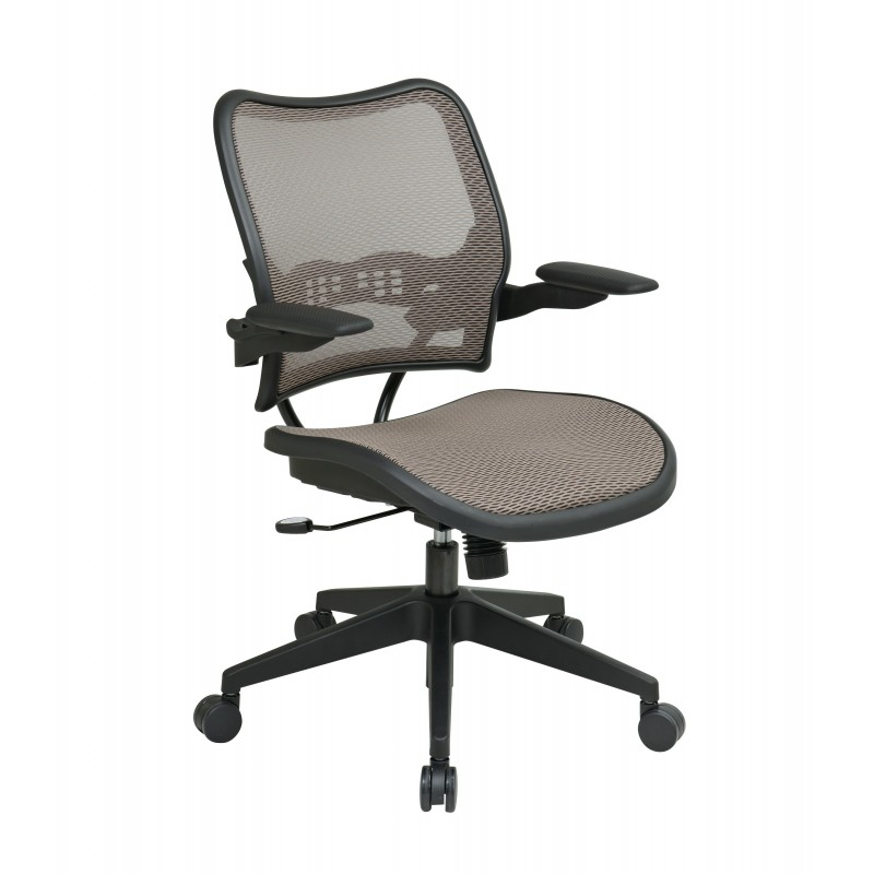 Space Seating Deluxe Latte AirGrid Seat and Back Chair (13-88N1P3)
