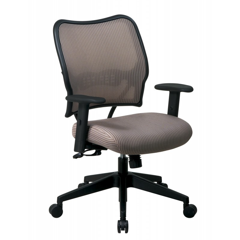 Space Seating Deluxe Chair with Latte VeraFlex Back and VeraFlex Fabric Seat (13-V88N1WA)