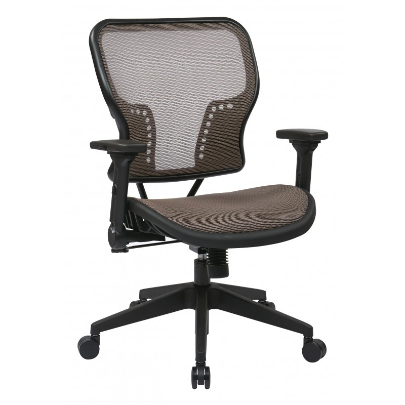 Space Seating Latte Air Grid Seat and Back Chair (213-88N1F3)