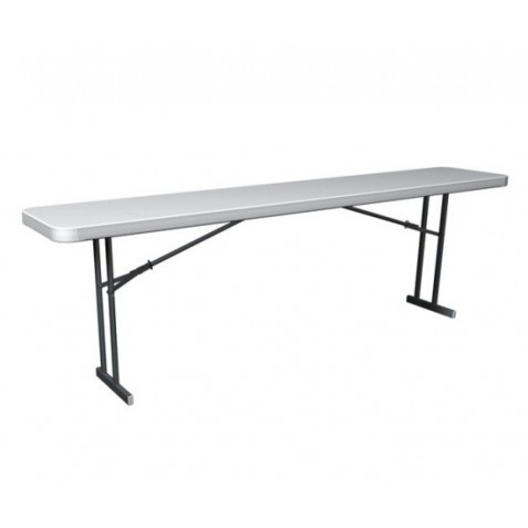 Lifetime Commercial Folding 8 ft. Seminar Table 20 Pack (White Granite) 880177