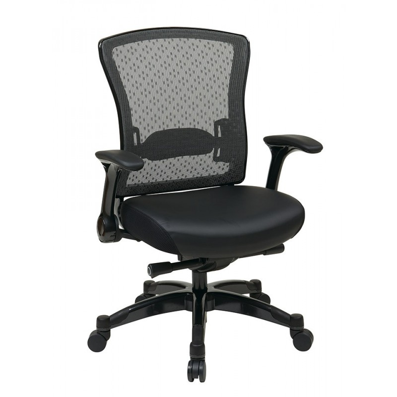 Space Seating Executive Bonded Leather Back Chair (317-ME3R2C7KF7)