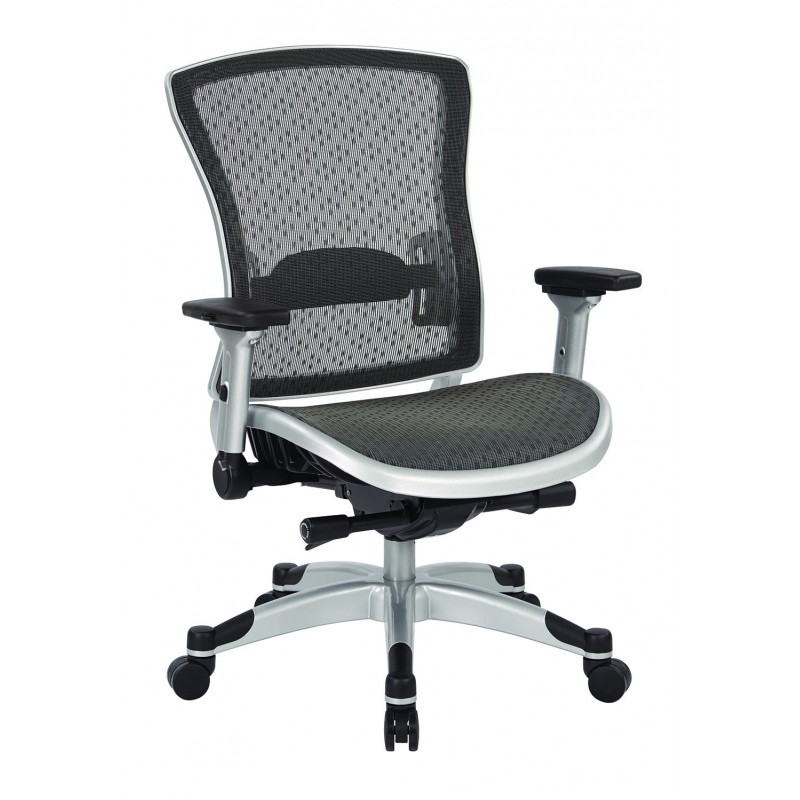 Space Seating Executive Breathable Mesh Back Chair (317-R22C6KF6)