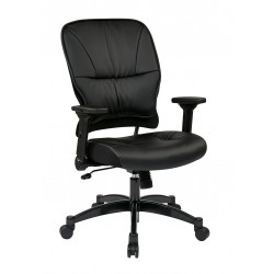 Space Seating Bonded Leather Seat And Back Managers Chair (32 E3371F3)