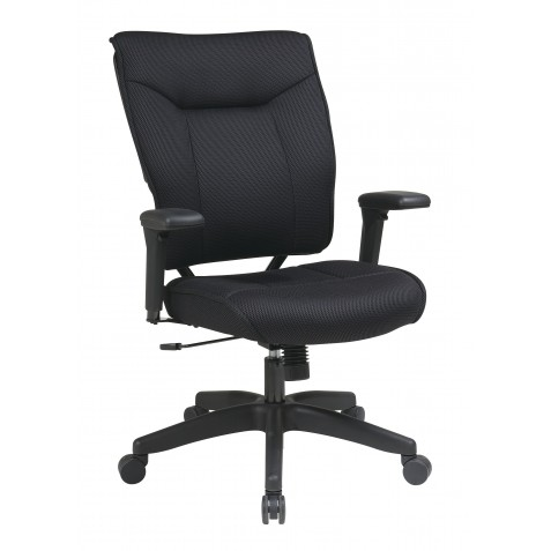 Space Seating Professional Black Mesh Executive Chair (37-33N1A7U)