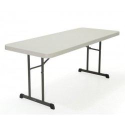 Lifetime 6 ft. Professional Grade Folding Table 18 Pack (Almond) 280249
